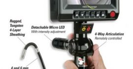 Hawkeye® V2 Deluxe Video Borescope